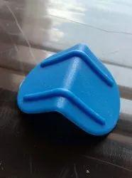 Blue Plastic Edge Corner Protector