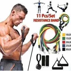 Risibands 11 Pc Resistance Band Set