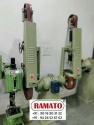 Rajlaxmi 3500x50mm Abrasive Belt Grinding Machine