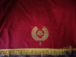 Red Table Cloth, Size: 4.5 * 6.5 Fit