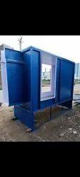 well coat aluminium,steel Powder Coating Booth, Cross-Flow Type, Automation Grade: Manual