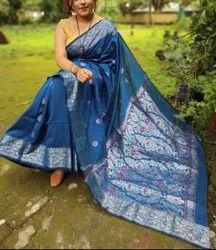 Linen Weaving Jamdani Sarees
