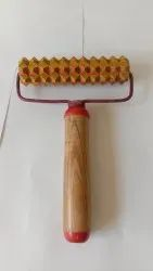 Acm Acupressure Hard Roll Handle - I Wooden Cantrol The Blood Circulation  And Warms Up The Body