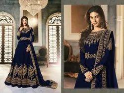 Ladies Designer Gown Suit