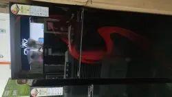 2 satr Red Haier Refrigerator, Model Name/Number: Hfr-2983csg-e, Capacity: 283
