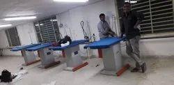 Semi-Automatic Ironing Machines, Model Name/Number: Sv Vacuum Table