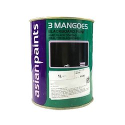 Asian Paints High Gloss 3 Mango Black Board Paint 4 Ltr, Packaging Type: Can
