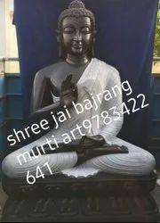 Black Marble Bhudha Statue 4 Fit