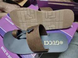 QTC Black brown ten Slippers