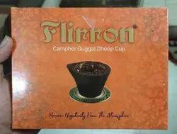 Flirron Camphor Guggal Dhoop Cup