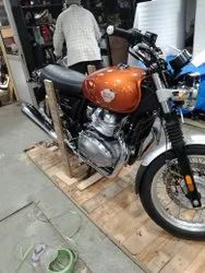 Motorcycle packers, in Boxes