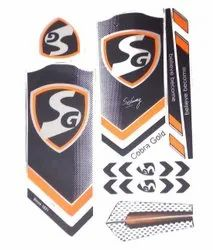 Multicolor Plastic Bat sticker, Packaging Type: Packing Pack