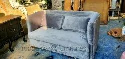 Suede Office Sofa, Seating Capacity: 2 Seater