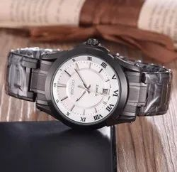 Multi brand Round Mens Fashion Wrist Watches, For Daily