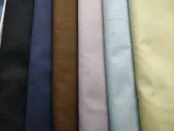 Cotton Trouser Fabric, Plain/Solids, Multicolour