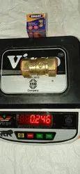 BRASS VERTICAL CHECK VALVE 25MM 250GM