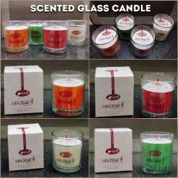 Scented Glass Candles