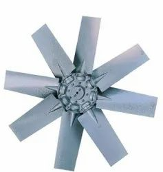 Aluminium Silver Axial Fan Blades, For Indusrial