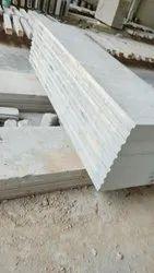 Greyish White Concrete Siporex AAC Slabs, For Construction