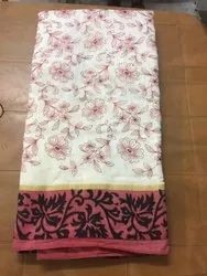 Handloom Weavers Party Wear Kora Silk Saree