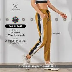 Stretchable Women Casual Pant