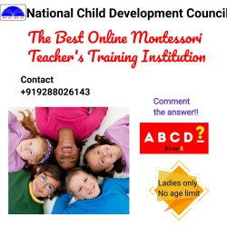 Post Graduate Diploma in International Montessori Education