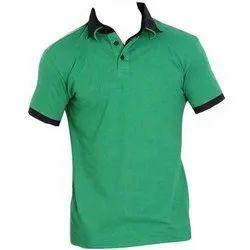 Men Plain Collar T Shirt