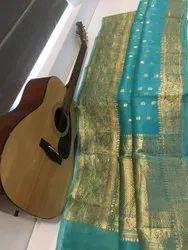 Banarasi Handloom Kora Silk Sarees