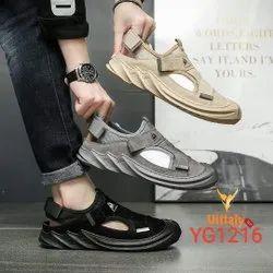 PVC Slip On Imported Velcro Sandal, Model Name/Number: YG211, Size: 6-10