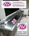 Stainless Steel Kitchen Sinks/ Wall Mounted / Kalyana Mandapam Sink
