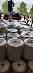 White Plain Sanitary Napkin Pads Raw Materials, Packaging Type: Rolls, 160