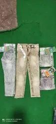 Brown Denim Kids dusty plain Jeans