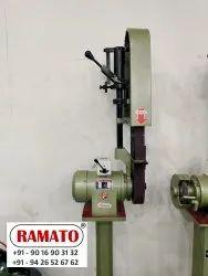 Rajlaxmi Single Side Abrasive Belt Grinder Machine In India