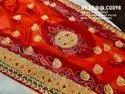 New Designer Bandhani Heavy Belbuti Odhna