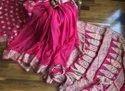 Wedding Wear Pure Chiffon Silk Banarasi Weaving Sarees