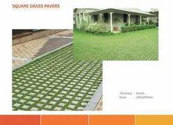 Square Grass Paver