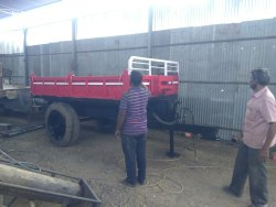 Repair Of Old Tractor Trailer