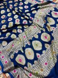 Pikkam Pik Jaqcard Dizaing Pure Look Saree Dyeable Silk Fabrics