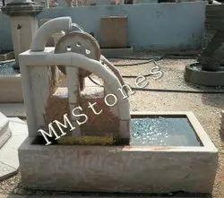 Stone Mechanical Fountain