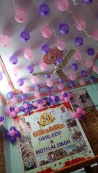 White Anniversary Decoration Services