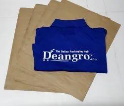 Plain Paper Courier Bag