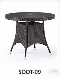 Sunny Overseas Wicker SOOT-09 Round Outdoor Table