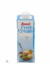 Amul Fresh Cream 250ml, For Restaurant