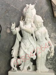 Marble Yogol Radha Krishna 2.5 feet 1