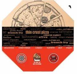12inch Octagon Pizza Box