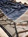 Banarasi Silk Linen Weaving Sarees