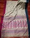 Khadi Cotton Weaving Jamdani Sarees