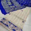 Chanderi Kurta Hand Gottapatti Work