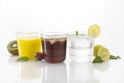 MRK Plastic Square Glass, For Home, Capacity: 300 ml