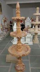 Bidasar Gold Marble Polished Fountain